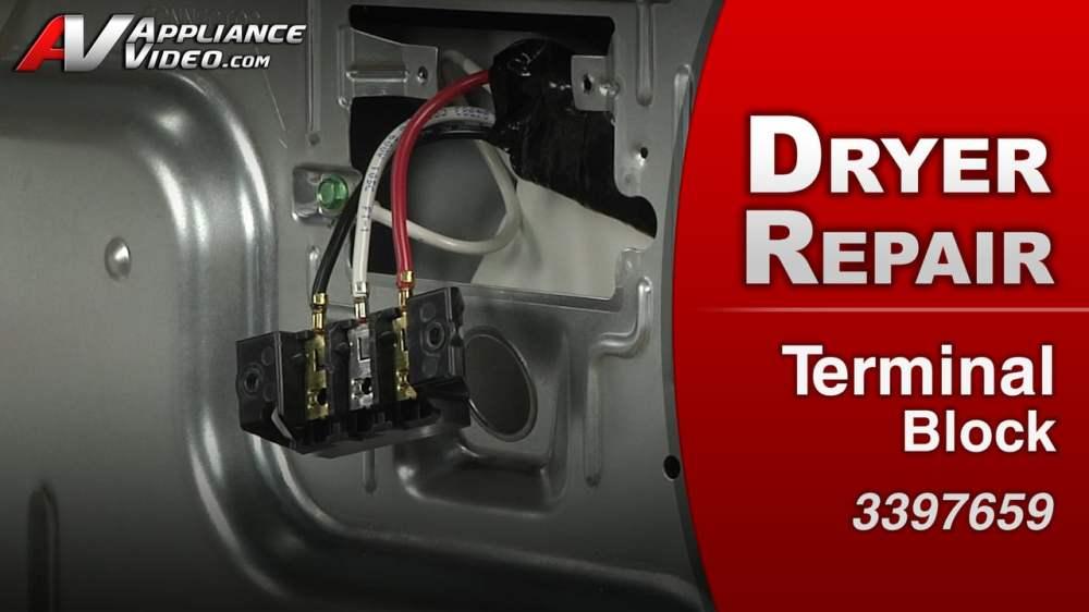 medium resolution of maytag med4200bw0 dryer electrical short terminal block