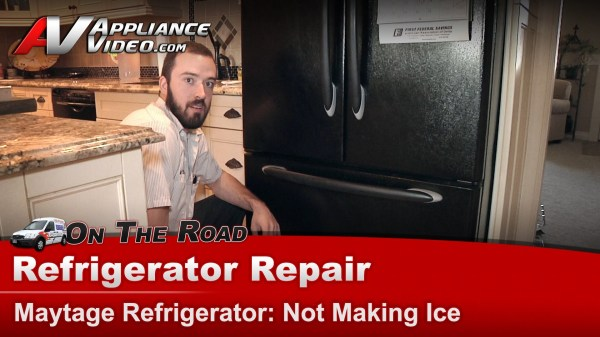 Maytag Mff2557heb Refrigerator Repair Making Ice