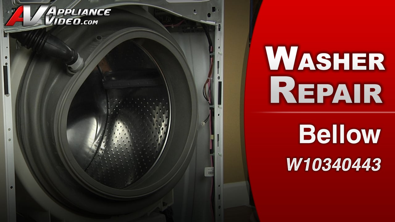Maytag MHW4200BW1 Washer  Leaking Water  Bellow  Appliance Video