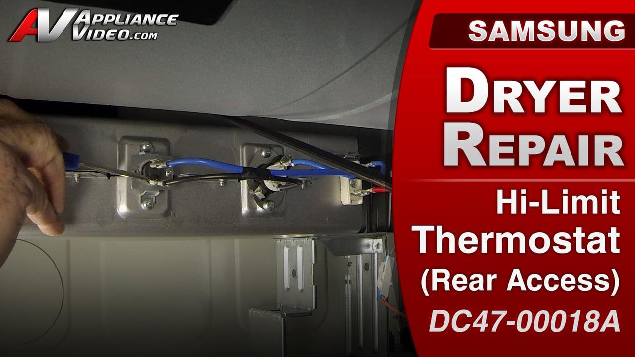 Samsung DV422EWHDWR Dryer  No power to heating element