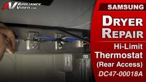 Samsung DV422EWHDWR Dryer – No power to heating element