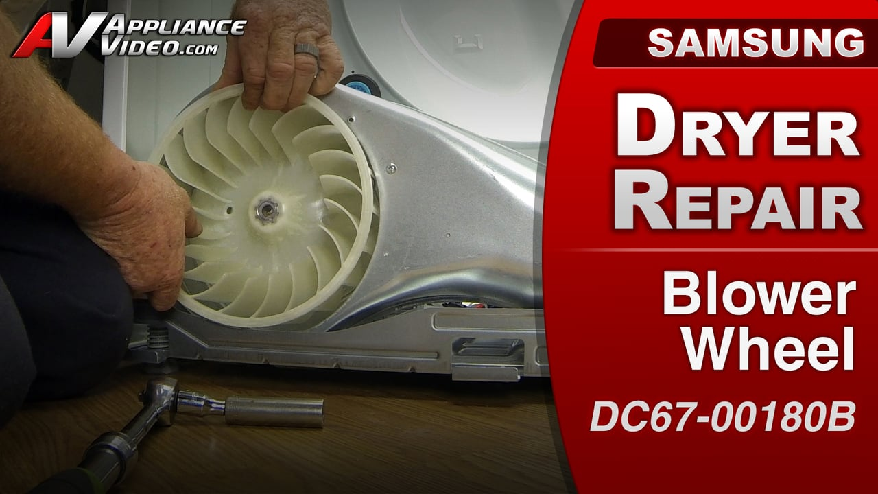 Ac Hvac Wiring Samsung Dv422ewhdwr Dryer Rattling Noise Blower Wheel