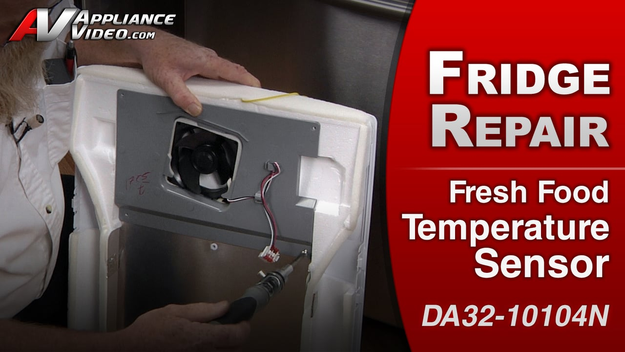 Samsung RF263TEAESR Refrigerator  Refrigerator too warm  Fresh Food Temp Sensor  Appliance Video