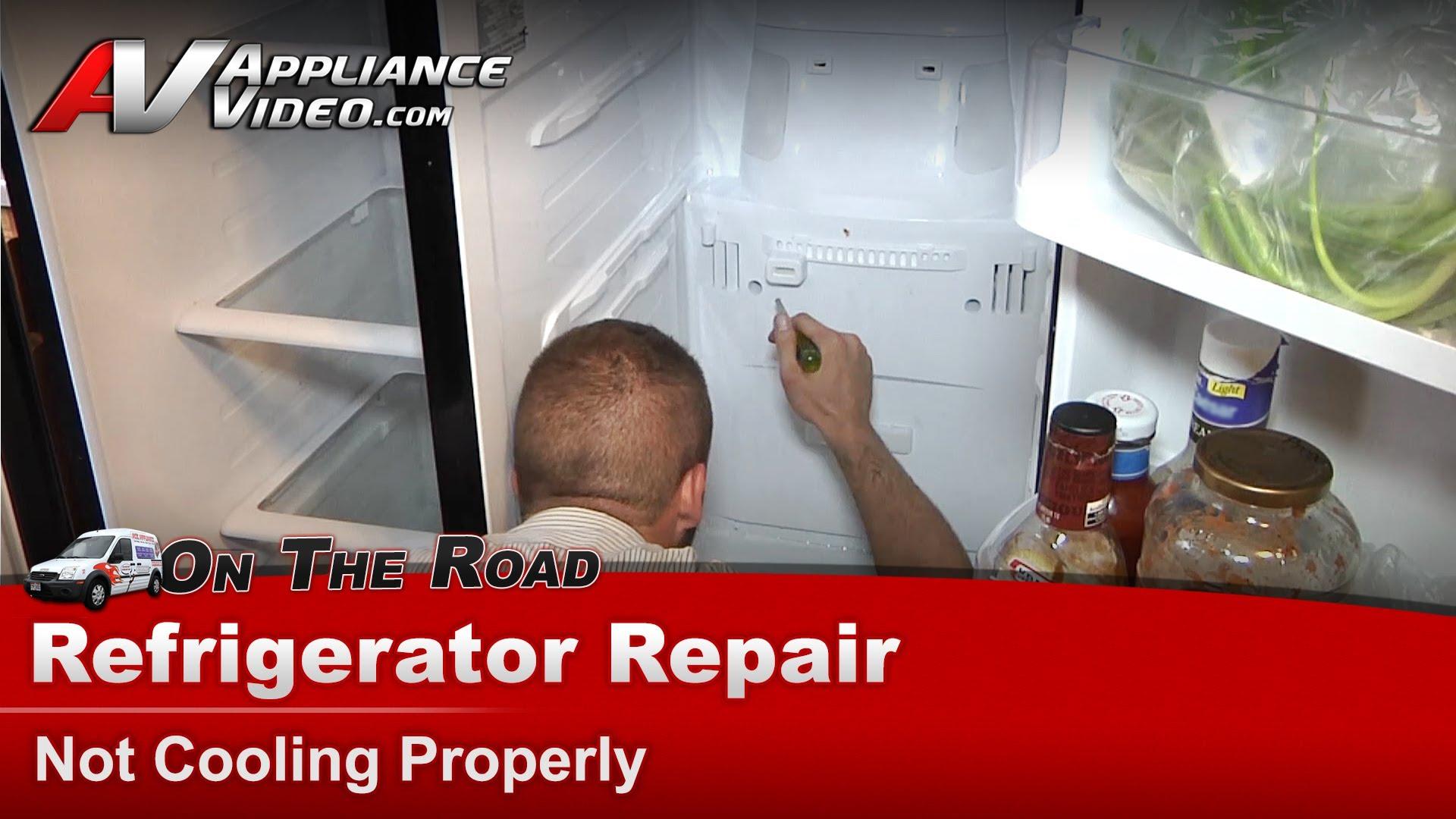 Ge Chest Freezer Wiring Diagram Samsung Rs263tdbpxaa Refrigerator Repair Not Cooling