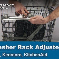 Kitchen Aid Gas Stove Picnic Table Whirlpool, Kenmore, Kitchenaid Dishwasher Rack Adjustment ...