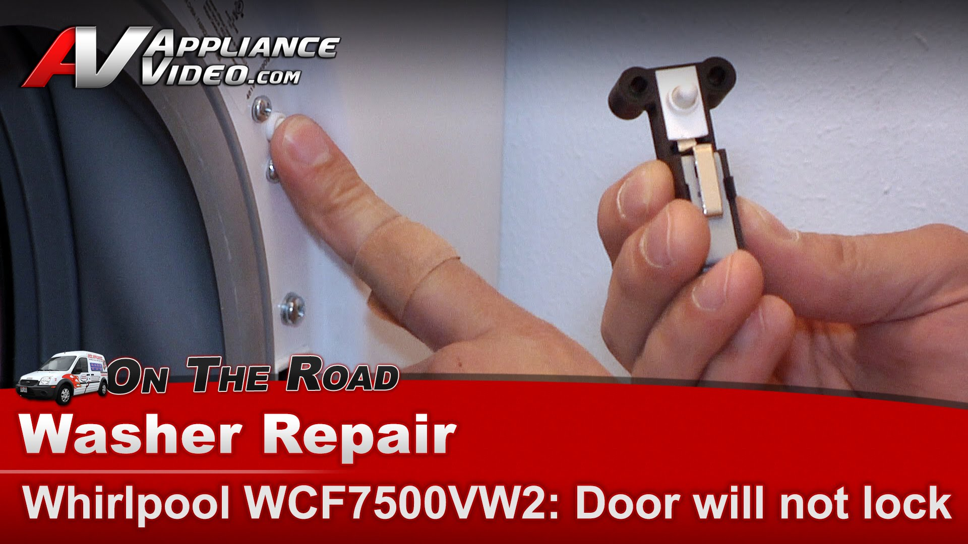 hight resolution of whirlpool wfc7500vw2 washer diagnostic repair door will not lock will not cycle