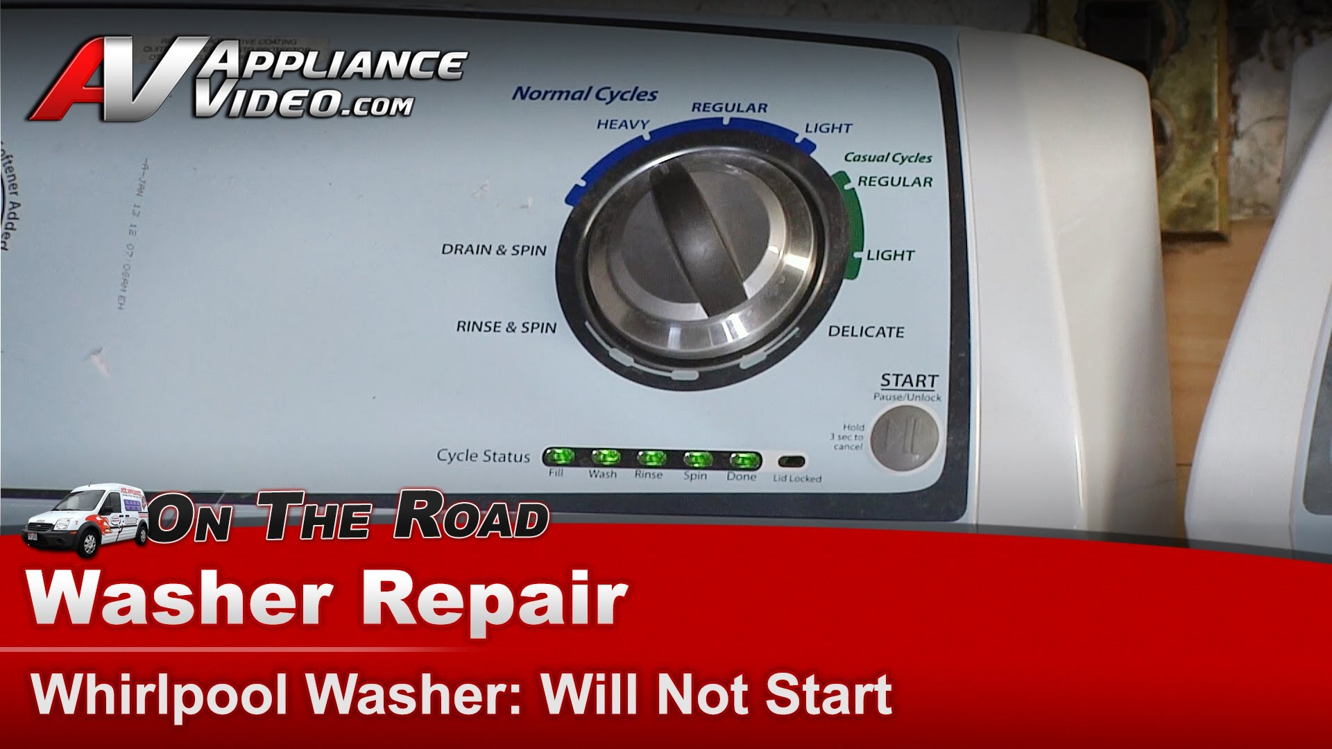 Whirlpool WTW4800XQ2 Washer Repair  Does not start  Appliance Video