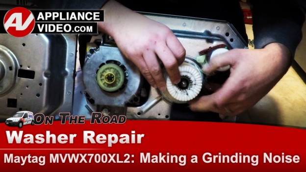 whirlpool washer parts diagram wiring for stanley garage door opener maytag – gear case grinding noise | appliance video