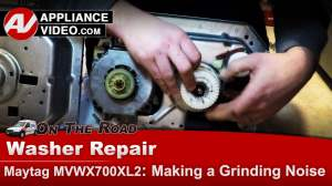 Maytag Washer – Gear Case – Grinding noise | Appliance Video