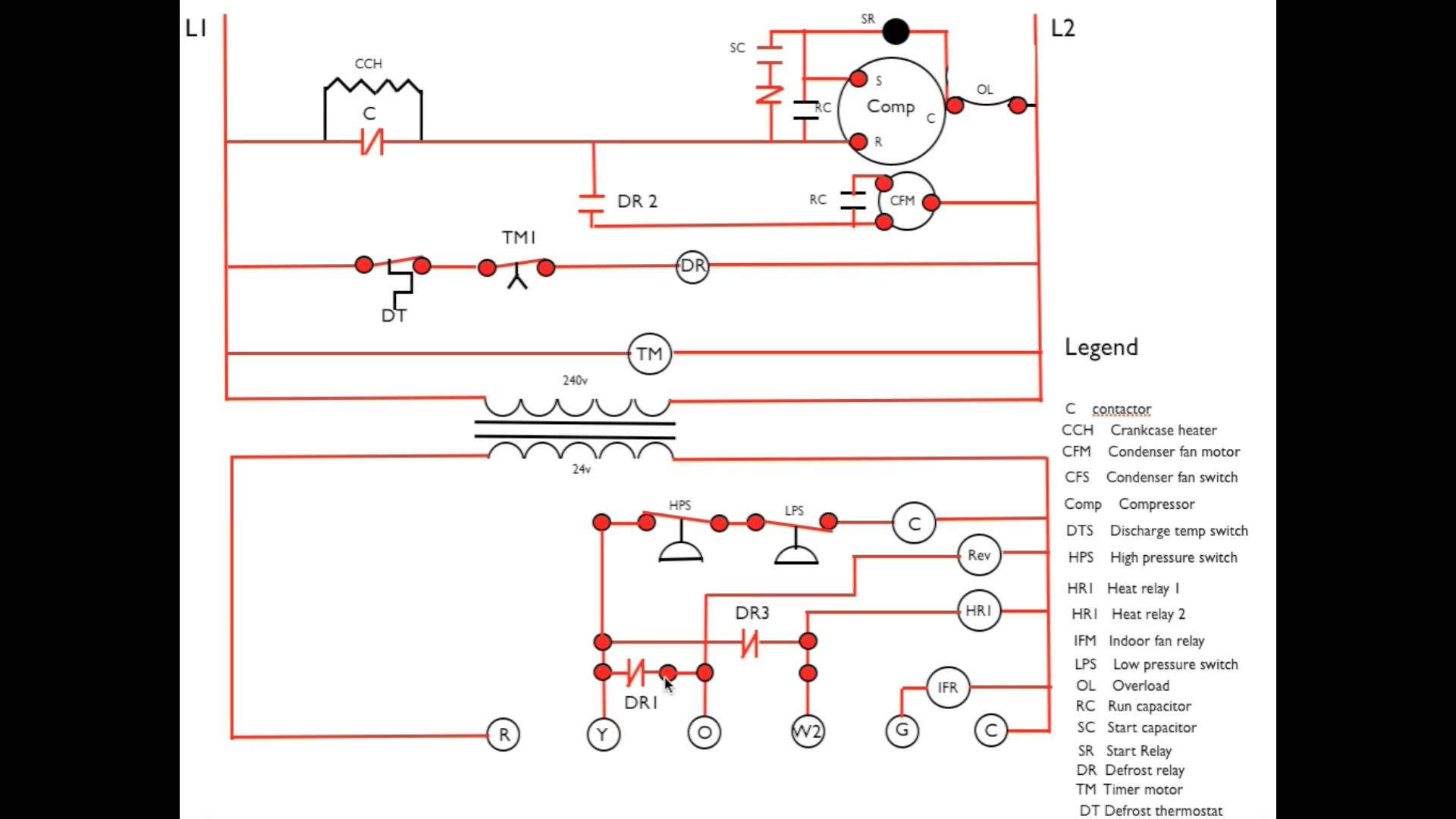 goodman wiring diagram air conditioner where is your gallbladder defrost sequence explained in detail | appliance video