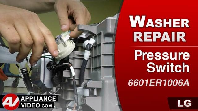 LG WD200CW Pedestal Washer  PE error code  Pressure