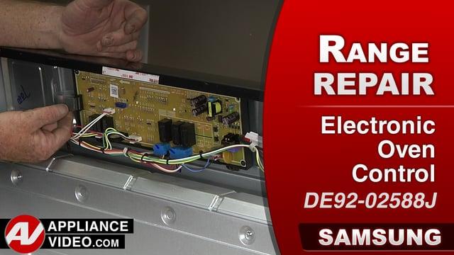Samsung NX58J5600SG Stove  E0A error code  Electronic