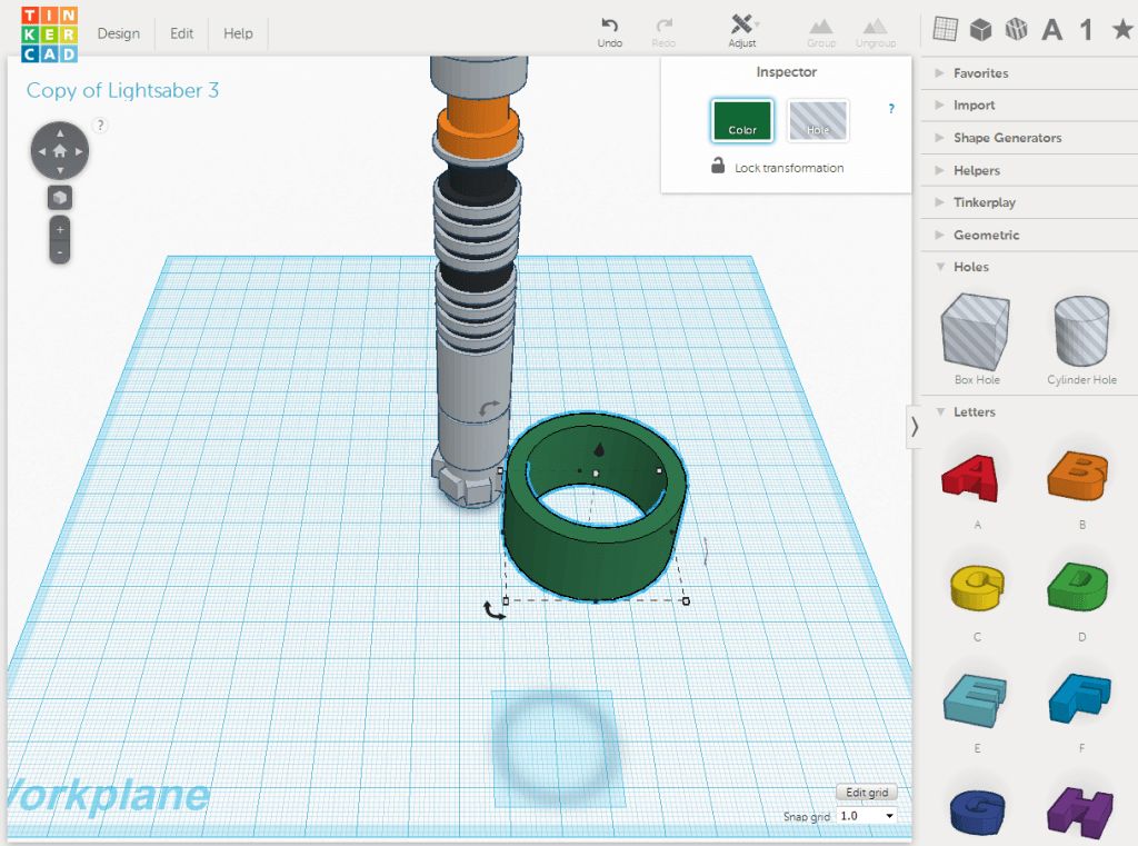 Best 3D Printing Software #5: TinkerCAD