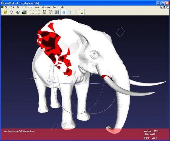 Best 3D Printing Software #18: MeshLab