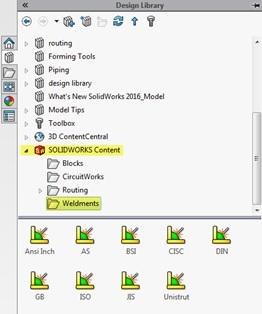วิธีการ Download Weldment Profiles มาใช้งาน