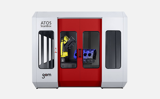 GOM Inspection Scanner : ATOS ScanBox Series 5