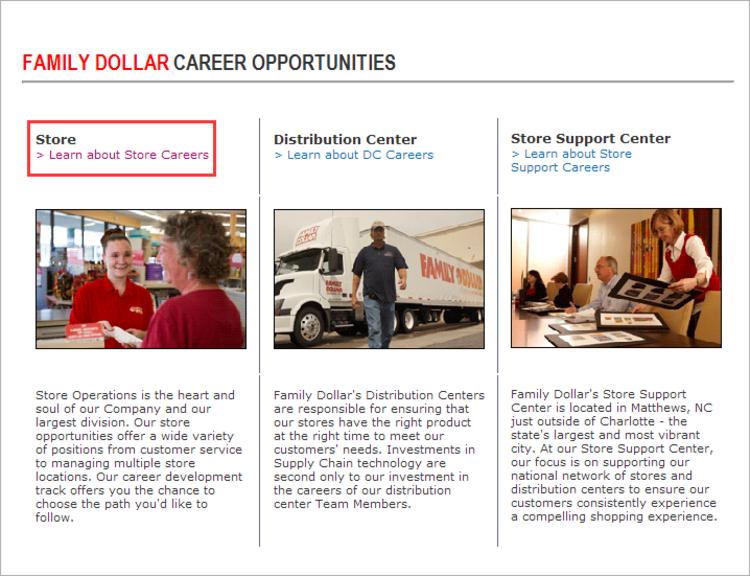 How to Apply for Family Dollar Jobs Online at familydollar