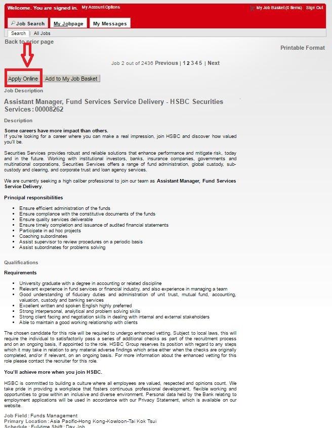 Resume Application Canara Hsbc - Resume Examples   Resume