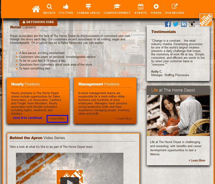 How to Apply for Home Depot Jobs Online at careers