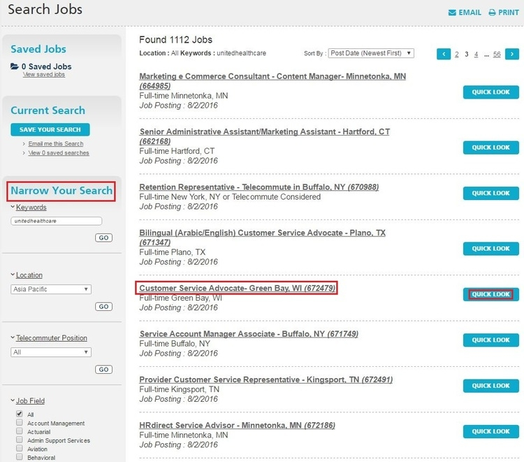 How to Apply for UnitedHealthcare Jobs Online at ...