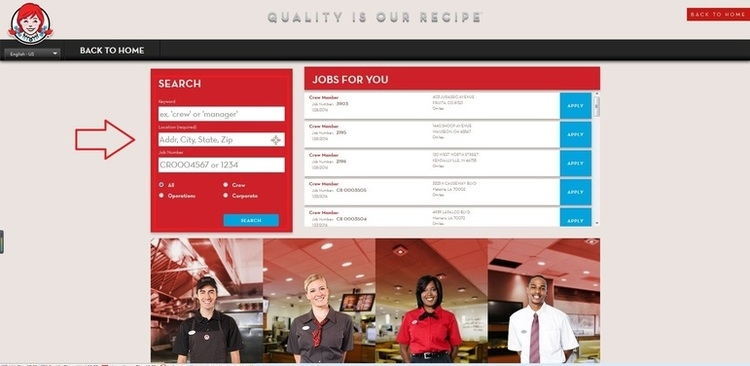 How to Apply for Wendys Jobs Online at wendysjobs