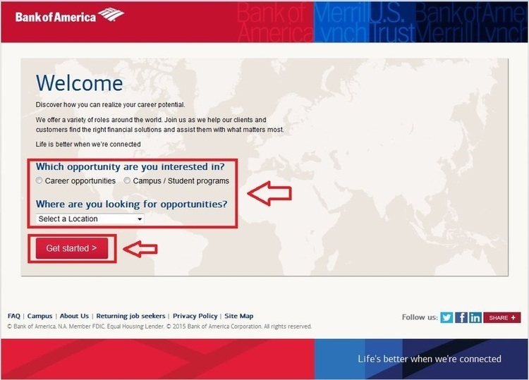 How To Apply For Bank Of America Jobs Online At Bankofamerica Com Careers
