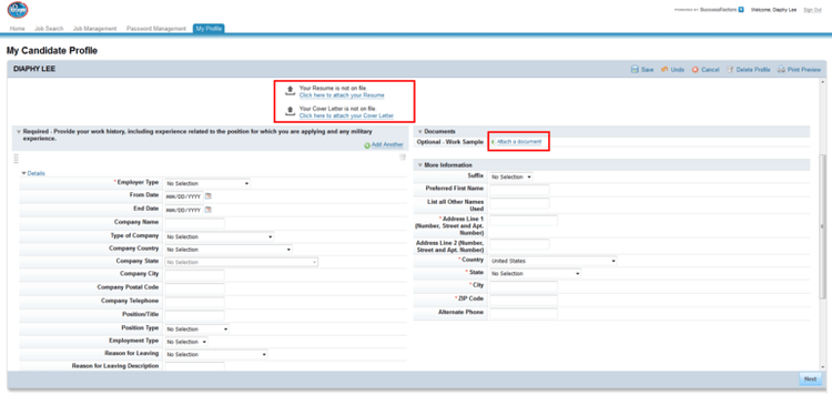 Job Application For Panda Express | Sample Resumes & Sample Cover