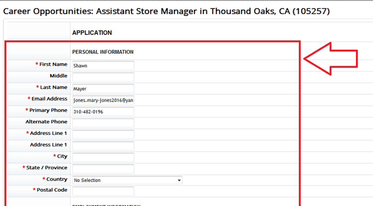 How to Apply for Marshalls Jobs Online at tjxcomcareer