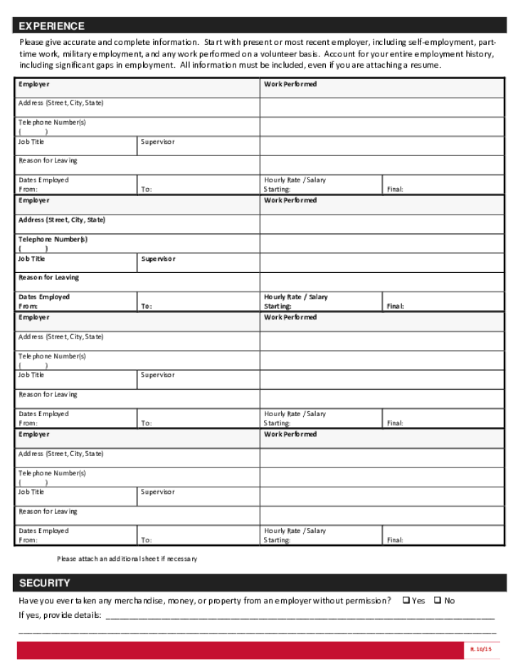Application Out Print Gnc