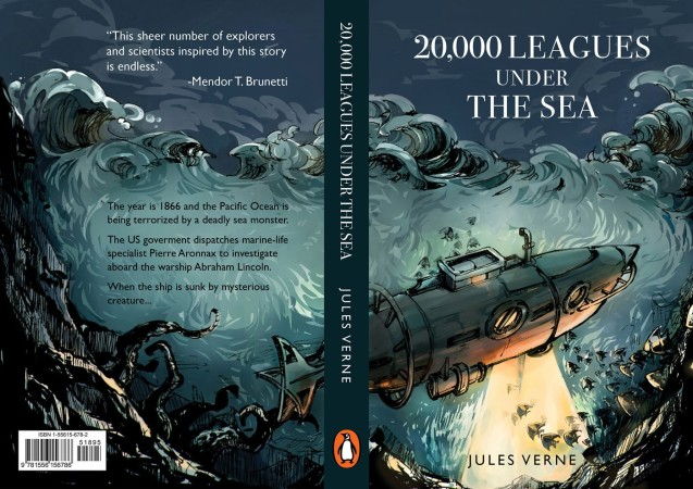 20 000 Leagues Under The Sea Book Cover