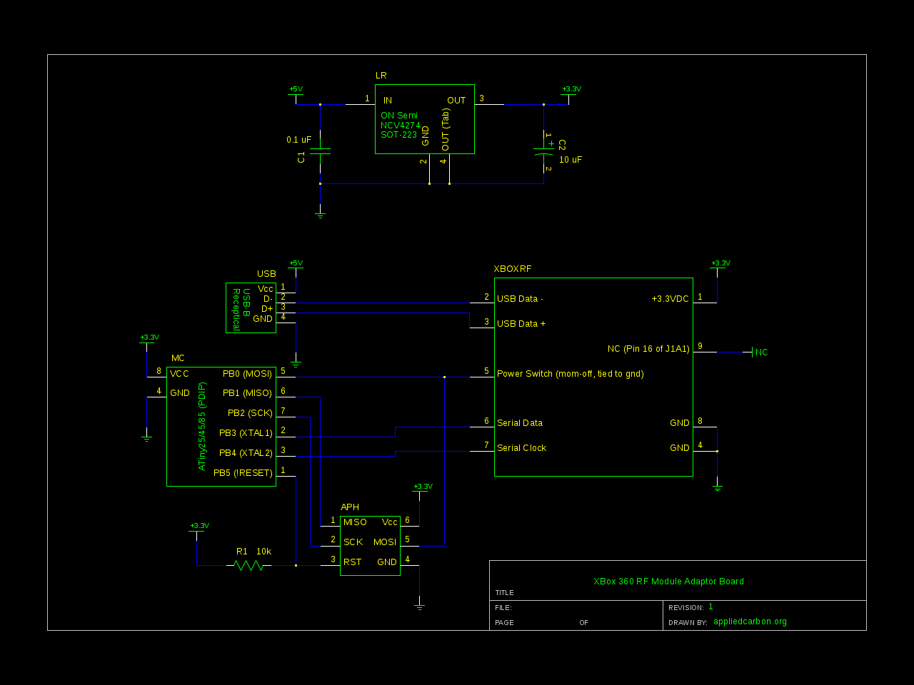 hight resolution of connecting a salvaged xbox 360 rf module to a desktop computer rf tv transmitter block diagram xbox rf block diagram