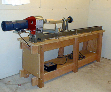 Woodwork Wood Lathe Stand PDF Plans