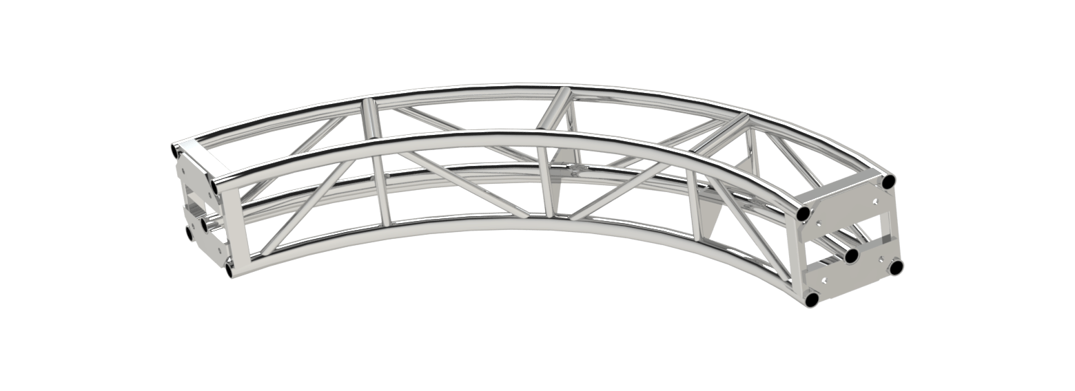 12″ Video Wall Truss Plated » Applied Electronics