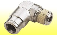 CO2 Snap Lock Hose Fitting - 90 Degree