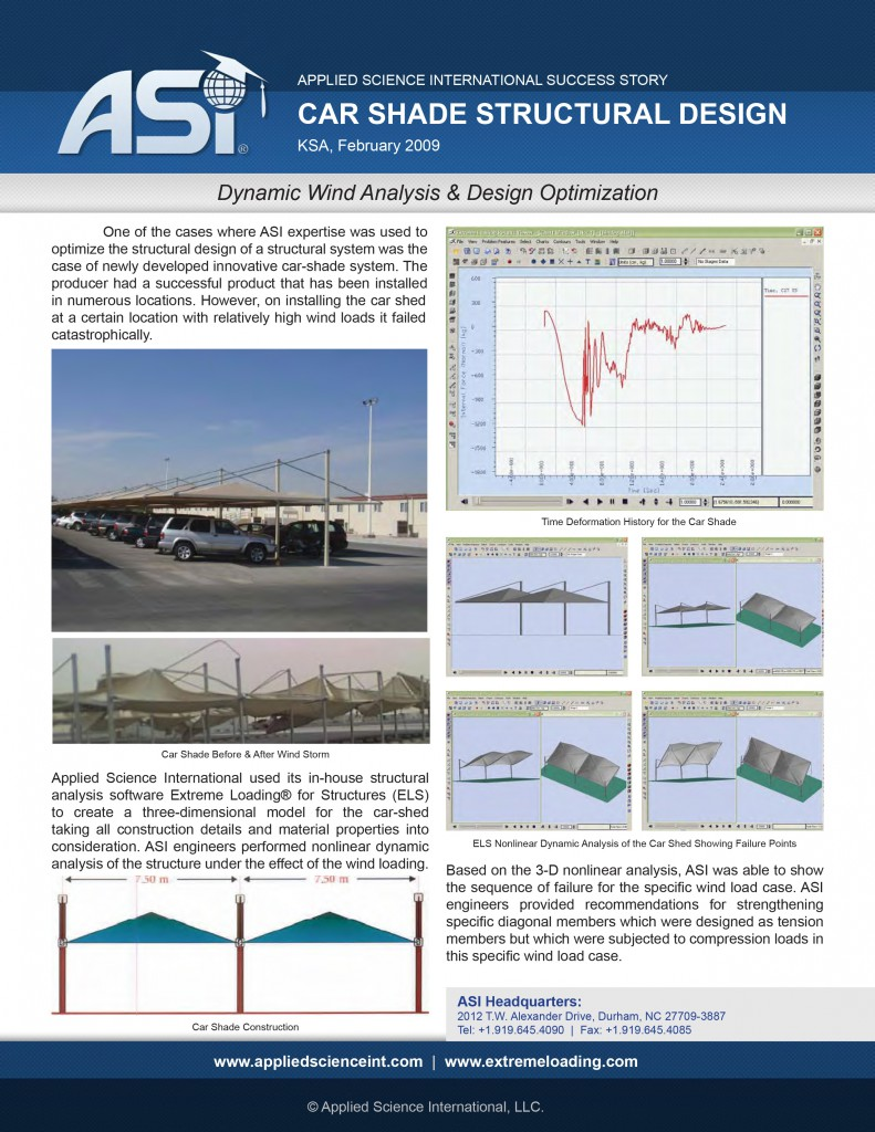 Case Study: Car Shade Wind Analysis