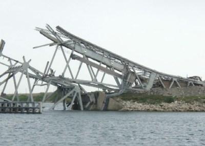 Tule Lake Lift Bridge Demolition