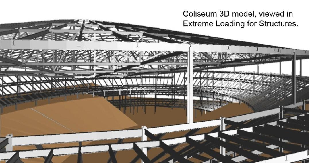 Engineering Simulation - Charlotte Coliseum Demolition Simulation - Applied Science International