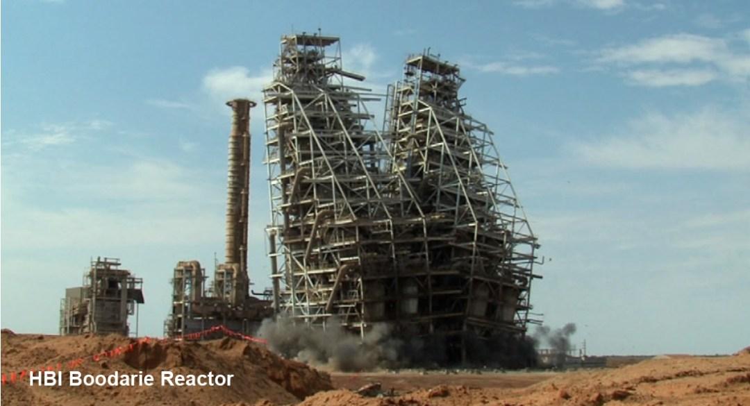 Demolition Analysis - HBI Boodarie Reactor - Applied Science International