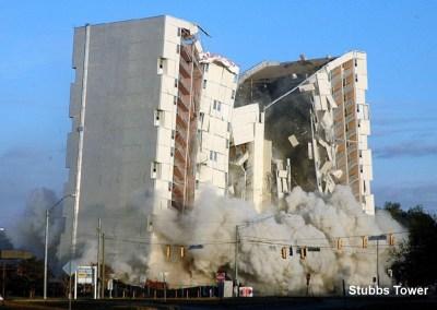 Stubbs Tower Implosion