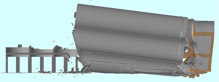 Explosive silo demolition - Ambev - Applied Science International