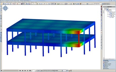 Progressive Collapse Analysis Performed with Extreme Loading® for Structures