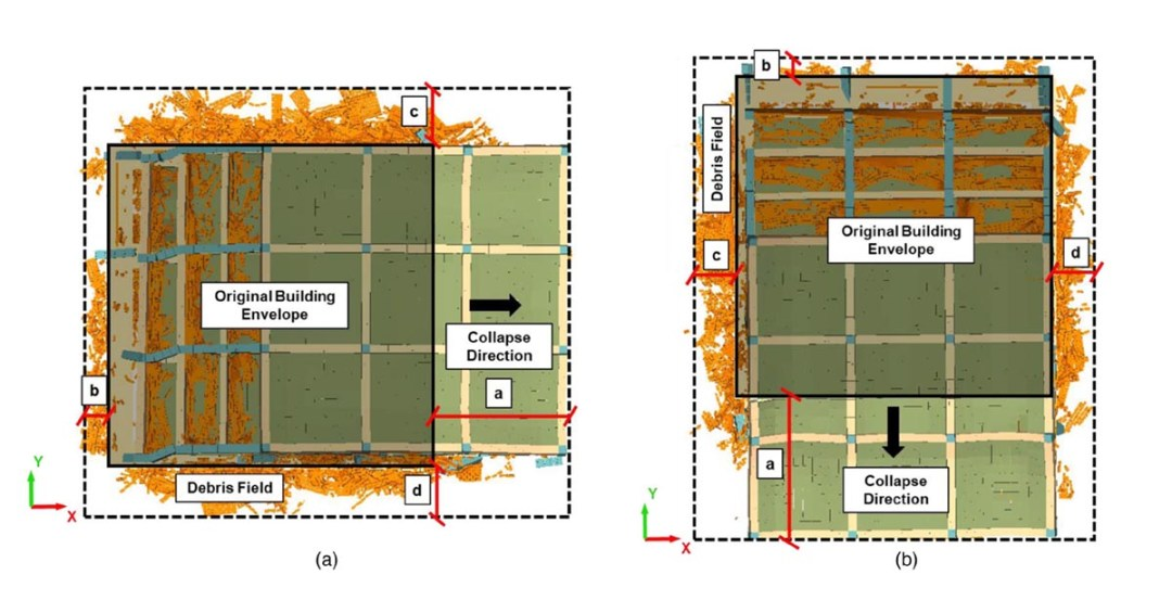 Journal of Structural Engineering - Seismic Debris Field for Collapsed RC Moment Resisting Frame Buildings