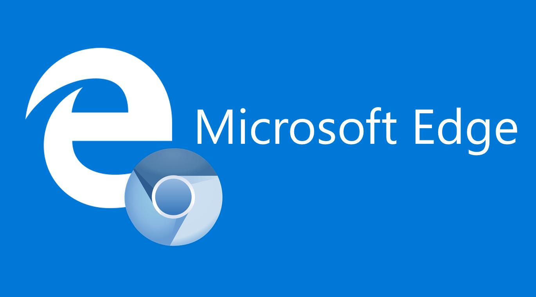 Microsoft Edge wird verchromt