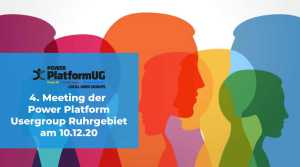 Viertes apptech Power Plattform User Group Meeting