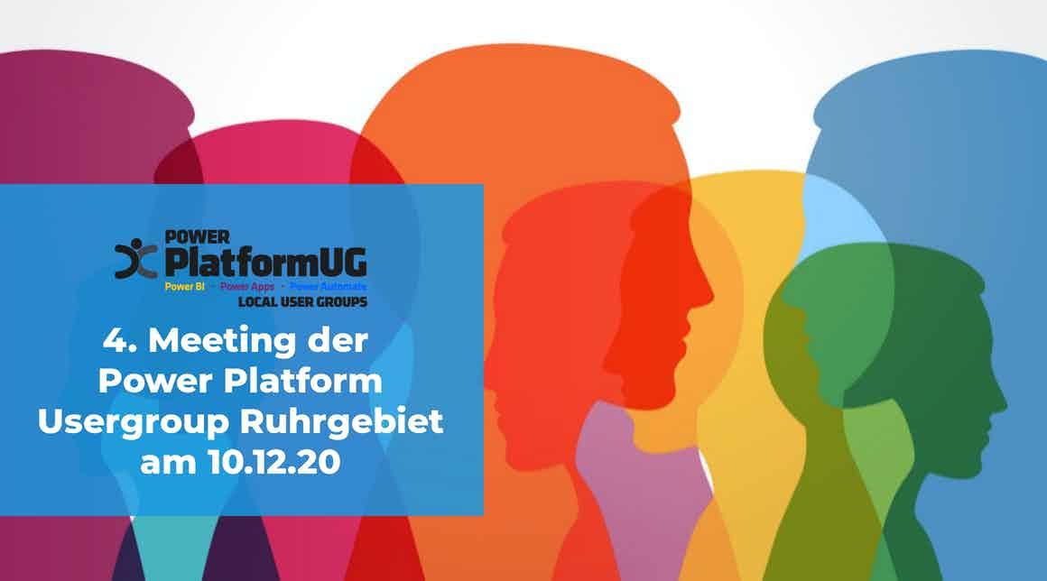 Viertes apptech Power Plattform User Group Meeting