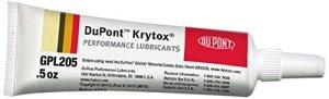 Krytox GPL 205 Grease, 0.5 oz. tube pure PFPE