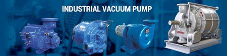 Industrial vacuum pumps