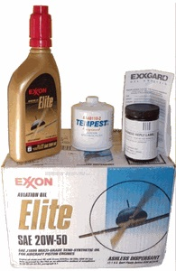 Exxon Elite Oil Change Kit
