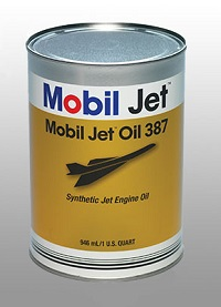 Mobil Jet Oil 387 aviation