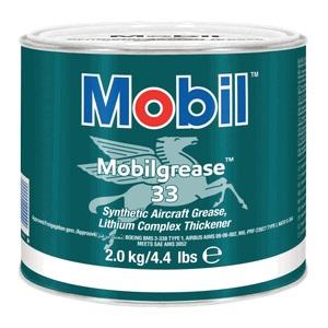 mobilgrease 33 2kg can